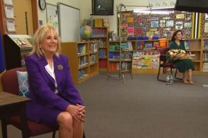 The surprise of the National Teacher of the year