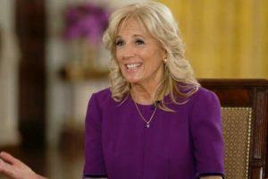 First Lady on Raising Teacher Pay